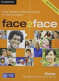 FACE 2 FACE STARTER. TEST MAKER GENERATOR CD ROM (2 ED.)