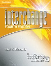 INTERCHANGE INTRO WORKBOOK B 4TH EDITION