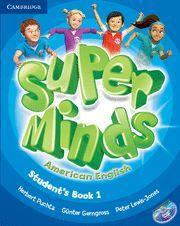 SUPER MINDS AMERICAN ENGLISH LEVEL 1 STUDENT'S BOOK WITH DVD-ROM