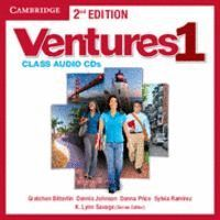 VENTURES LEVEL 1 CLASS AUDIO CDS (2) 2ND EDITION