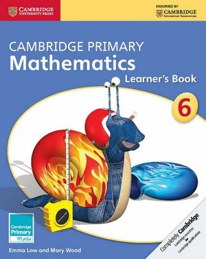 CAMBRIDGE PRIMARY MATHEMATICS STAGE 6 LEARNER´S BOOK