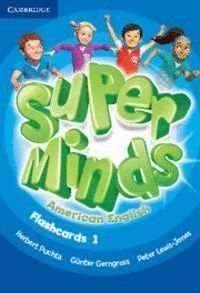 SUPER MINDS AMERICAN ENGLISH LEVEL 1 FLASHCARDS (PACK OF 103)