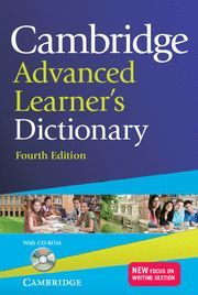 CAMBRIDGE ADVANCED LEARNER´S DICTIONARY WITH CD-ROM 4TH EDITION