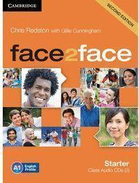 CLASS AUDIO CDS(3) FACE2FACE STARTER A1