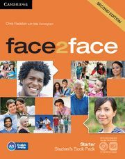FACE2FACE STARTER STUDENT'S BOOK WITH DVD-ROM AND ONLINE WORKBOOK PACK 2ND EDITION