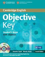 OBJECTIVE KEY STUDENT'S BOOK WITH ANSWERS WITH CD-ROM 2ND EDITION