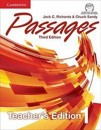 PASSAGES LEVEL 1 TEACHER´S EDITION WITH ASSESSMENT AUDIO CD/CD-ROM THIRD EDITION