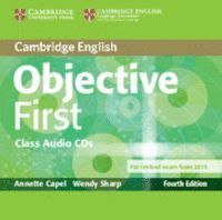 OBJECTIVE FIRST CLASS AUDIO CDS (2) 4TH EDITION