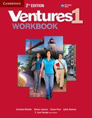 VENTURES LEVEL 1 WORKBOOK WITH AUDIO CD 2ND EDITION