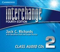 INTERCHANGE LEVEL 2 CLASS AUDIO CDS (3) 4TH EDITION