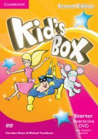 KID´S BOX STARTER INTERACTIVE DVD (NTSC) WITH TEACHER´S BOOKLET 2ND EDITION