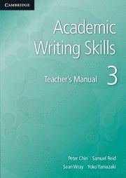 ACADEMIC WRITING SKILLS 3 TEACHER´S MANUAL