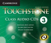 TOUCHSTONE LEVEL 3 CLASS AUDIO CDS (4) 2ND EDITION