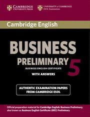 CAMBRIDGE ENGLISH BUSINESS 5 PRELIMINARY STUDENT´S BOOK WITH ANSWERS