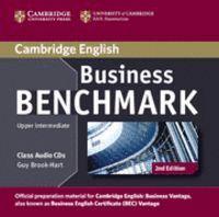 BUSINESS BENCHMARK UPPER INTERMEDIATE BUSINESS VANTAGE CLASS AUDIO CDS (2) 2ND EDITION