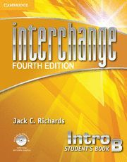 INTERCHANGE INTRO STUDENT´S BOOK B WITH SELF-STUDY DVD-ROM AND ONLINE WORKBOOK B PACK 4TH EDITION
