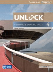 UNLOCK LEVEL 4 LISTENING AND SPEAKING SKILLS STUDENT´S BOOK AND ONLINE WORKBOOK