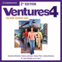 VENTURES LEVEL 4 CLASS AUDIO CDS (2) 2ND EDITION