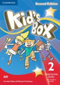 KID´S BOX LEVEL 2 INTERACTIVE DVD (NTSC) WITH TEACHER´S BOOKLET 2ND EDITION