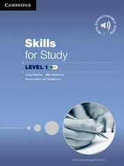 SKILLS FOR STUDY LEVEL 1 STUDENT´S BOOK WITH DOWNLOADABLE AUDIO
