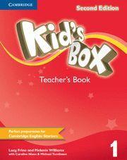 KID'S BOX LEVEL 1 TEACHER'S BOOK 2ND EDITION