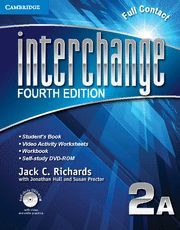 INTERCHANGE LEVEL 2 FULL CONTACT A WITH SELF-STUDY DVD-ROM 4TH EDITION