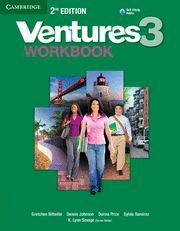 VENTURES LEVEL 3 WORKBOOK WITH AUDIO CD 2ND EDITION