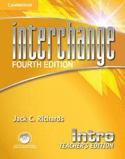 INTERCHANGE INTRO TEACHER'S EDITION WITH ASSESSMENT AUDIO CD/CD-ROM 4TH EDITION