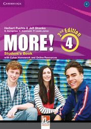 MORE! 4 (2ND ED.) STUDENT´S BOOK WITH CYBER HOMEWORD AND RESOURCES ONLINE