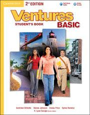 VENTURES BASIC STUDENT'S BOOK WITH AUDIO CD 2ND EDITION