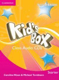 KID´S BOX STARTER CLASS AUDIO CDS 2 2ND EDITION