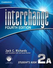 INTERCHANGE LEVEL 2 STUDENT´S BOOK A WITH SELF-STUDY DVD-ROM 4TH EDITION