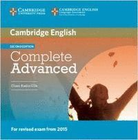 COMPLETE ADVANCED CLASS AUDIO CDS (2) 2ND EDITION