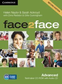 FACE2FACE ADVANCED TESTMAKER CD-ROM AND AUDIO CD 2ND EDITION