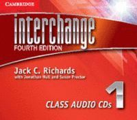 INTERCHANGE LEVEL 1 CLASS AUDIO CDS (3) 4TH EDITION