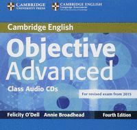 OBJECTIVE ADVANCED CLASS AUDIO CDS (2) 4TH EDITION
