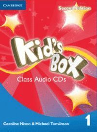 KID´S BOX LEVEL 1 CLASS AUDIO CDS (4) 2ND EDITION