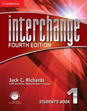 INTERCHANGE LEVEL 1 STUDENT'S BOOK WITH SELF-STUDY DVD-ROM 4TH EDITION