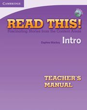 READ THIS! INTRO TEACHER´S MANUAL WITH AUDIO CD