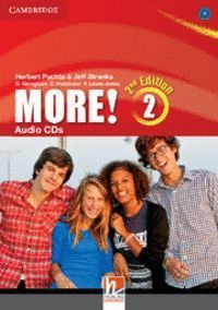 MORE! LEVEL 2 AUDIO CDS (3) 2ND EDITION