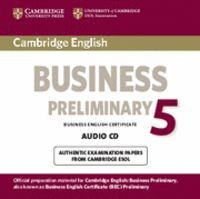 CAMBRIDGE ENGLISH BUSINESS 5 PRELIMINARY AUDIO CD