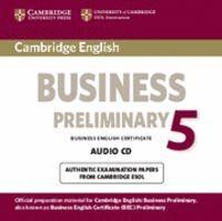 CAMBRIDGE ENGLISH BUSINESS 5 PRELIMINARY AUDIO CD