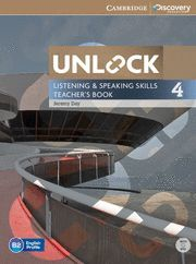 UNLOCK LEVEL 4 LISTENING AND SPEAKING SKILLS TEACHER´S BOOK WITH DVD