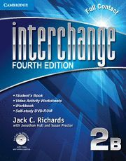 INTERCHANGE LEVEL 2 FULL CONTACT B WITH SELF-STUDY DVD-ROM 4TH EDITION
