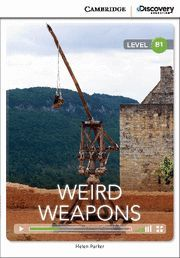 WEIRD WEAPONS INTERMEDIATE BOOK WITH ONLINE ACCESS
