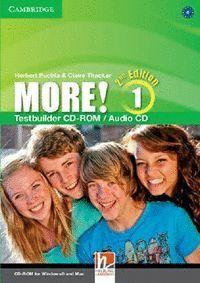 MORE! LEVEL 1 TESTBUILDER CD-ROM/AUDIO CD 2ND EDITION