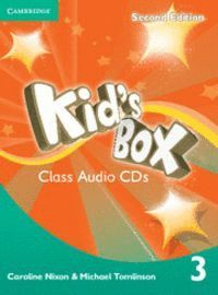KID´S BOX LEVEL 3 CLASS AUDIO CDS (2) 2ND EDITION