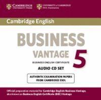 CAMBRIDGE ENGLISH BUSINESS 5 VANTAGE AUDIO CDS (2)