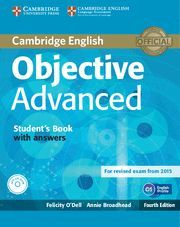 OBJECTIVE ADVANCED STUDENT´S BOOK WITH ANSWERS WITH CD-ROM 4TH EDITION
