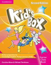 KID´S BOX STARTER CLASS BOOK WITH CD-ROM 2ND EDITION